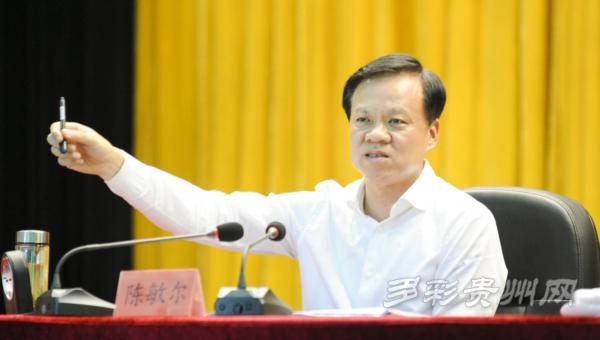 省委书记、省长陈敏尔为青年学生授课