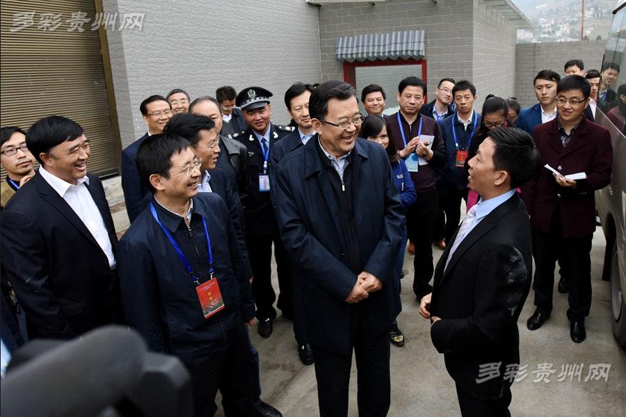 贵州省第三次项目建设现场观摩会走进贵安新区、仁怀市