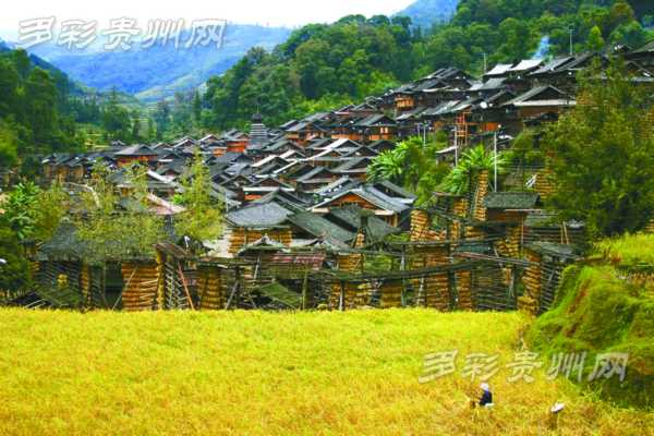 贵州占里村风景图片
