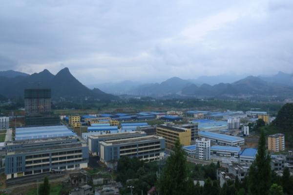 贵州德江全城风景