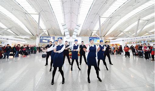 春运期间 贵阳机场预计运送乘客200万人次
