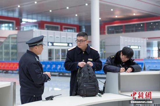 贵阳北站遗失物品管理员的一天