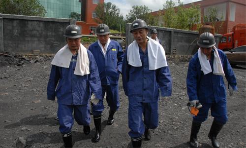 煤矿检查安全生产工作