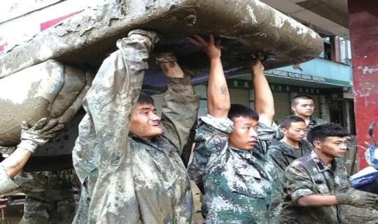 探亲期间 贵州3名军人投身救灾一线