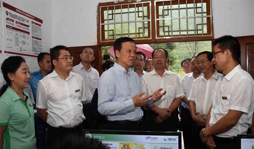 陈敏尔书记:统筹搬出地迁入地资源造福移民群众