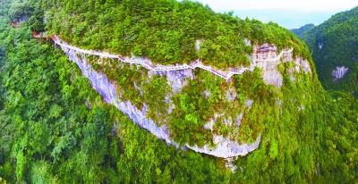 贵定还有座高高的玻璃栈道?……   玻璃房玻璃桥,玻璃栈道悬崖翘.