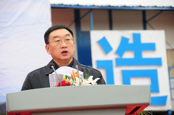 水利部部长陈雷出席黔中水利枢纽工程动工仪式