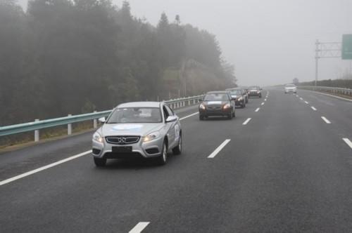 新能源试验车穿越贵州,4天充电3次行700公里电费不到70元