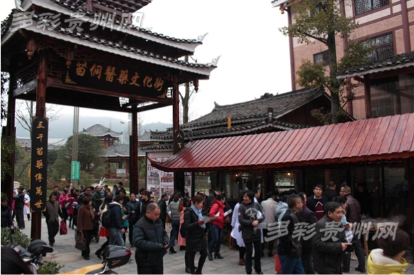 中国苗侗医药文化街在凯里开市了!