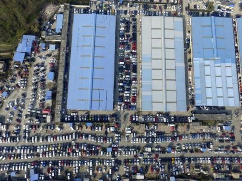 航拍:贵阳金阳二手车市场马上取缔 带你从空中看一眼