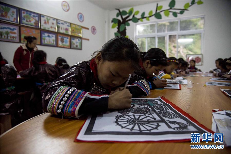 贵州从江:乡村少年宫推动非遗技艺代代传