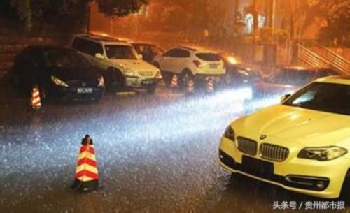 21日晚 贵阳出现今年首场雷雹天气 未来几天低温阴雨持续