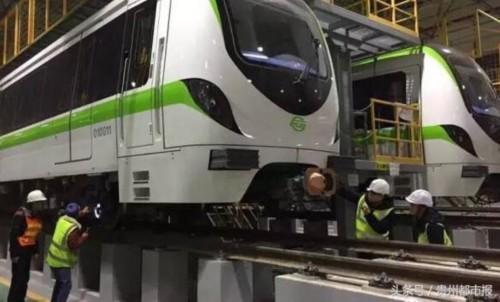 """贵阳地铁又进一步!客车""""小媚眼""""开始正线动态调试啦"""