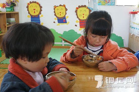 碧江:农村学前教育儿童营养改善计划暖民心
