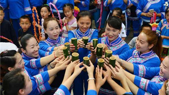 """贵州剑河:侗族同胞欢度""""翁普节"""""""