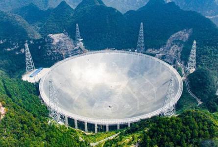 """中国""""天眼"""",是世界上最大的射电望远镜,属于如今世界较为顶端的太空"""
