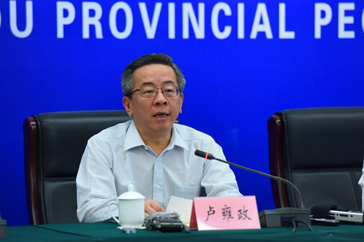副省长卢雍政介绍相关情况