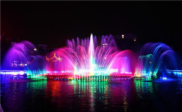水西公园喷泉
