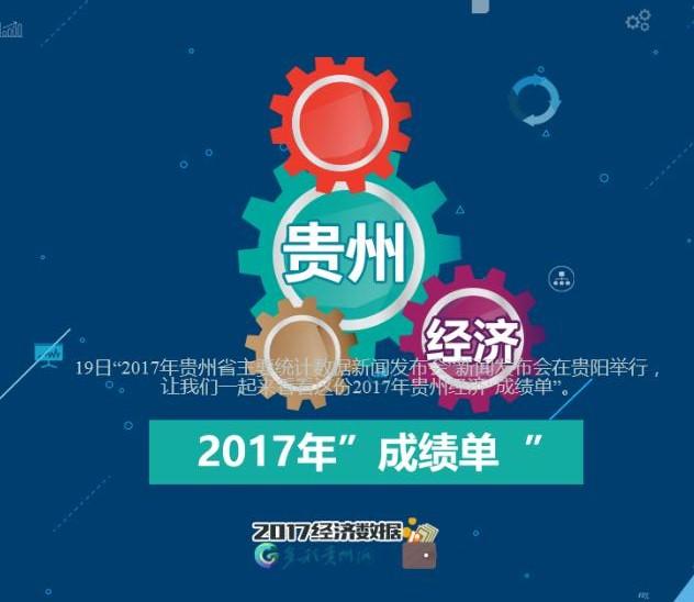 """2017贵州经济""""成绩单"""""""