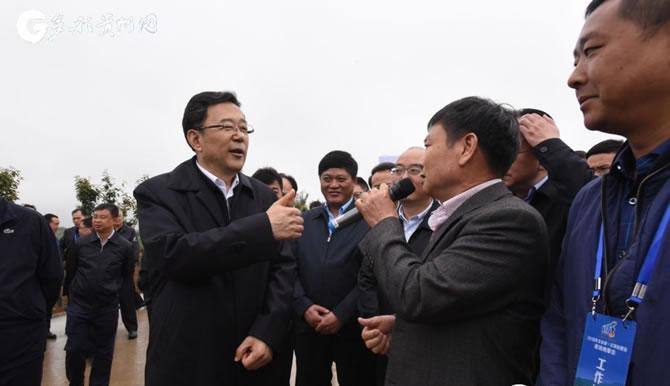 """贵州项目建设观摩会:视察脱贫""""主战场""""前沿阵地"""