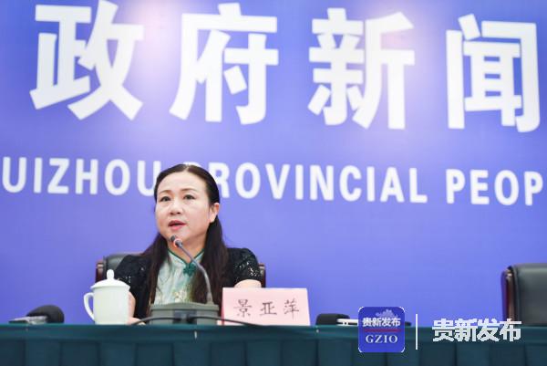 省大数据局副局长、新闻发言人景亚萍介绍有关情况