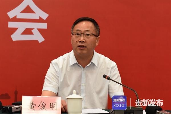 省农业委员会党组成员、总农艺师黄俊明介绍有关情况