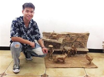 遵义青年获中国青少年雕塑大赛最佳创意作品奖