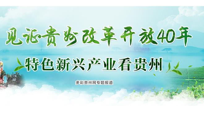 【专题】见证贵州改革开放40年―特色新兴产业看贵州