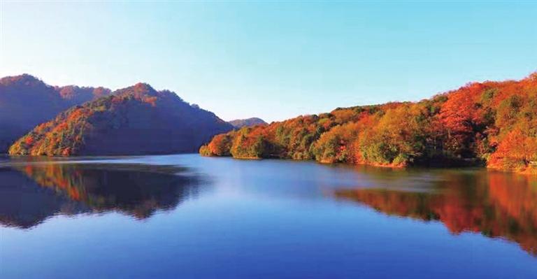 宽阔水国家级自然保护区景色怡人