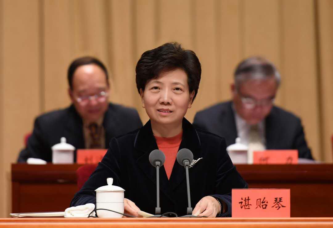 省委副书记,省长谌贻琴出席并讲话(当代贵州融媒体记者张丽 摄影)