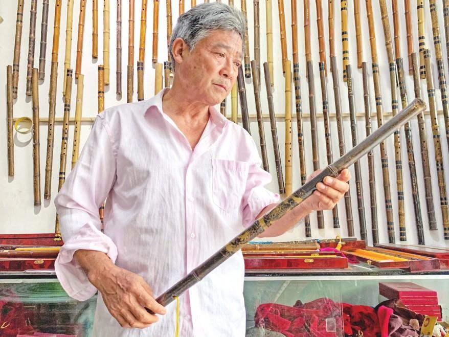刘泽松的箫笛人生
