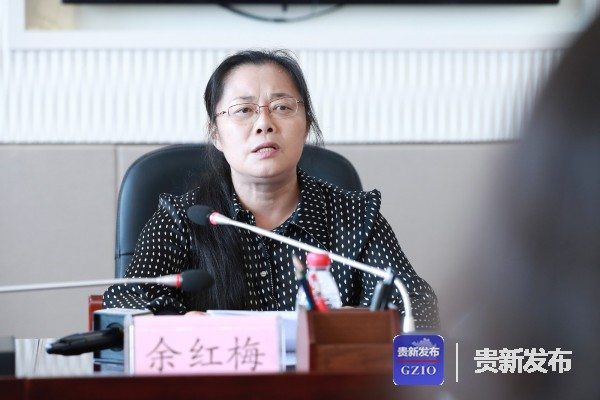 贵州省高院副院长余红梅介绍相关情况