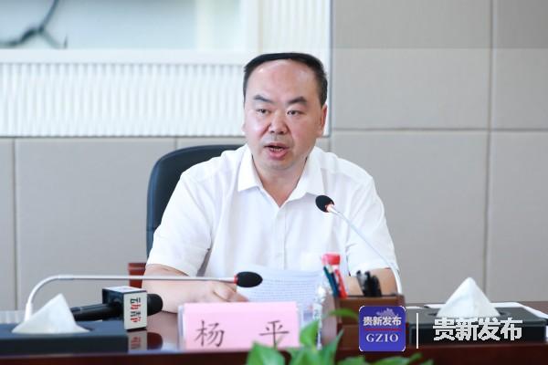 安顺市政府副市长杨平介绍相关情况