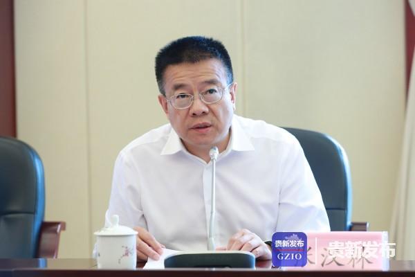省外事办公室党组书记、主任张汉林介绍相关情况